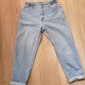 L.L. Bean Jeans - L.L. Bean Light Blue High-Waisted Comfort Jeans 6P